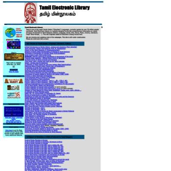 Tamilelibrary.org thumbnail