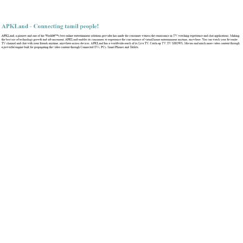 tamilhdtv net at Website Informer  About Us  Visit Tamilhdtv