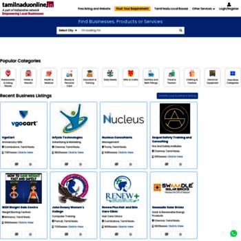 tamilnaduonline in at WI  Tamil Nadu, Tamil Nadu Directory