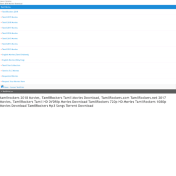 tamilrockers.com movies download tamil 2018