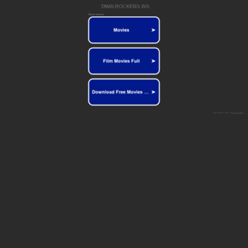 tamilrockers ws at WI  Download and Watch Latest Tamil
