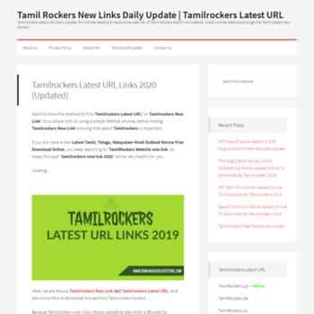 tamilrockerslatesturl com at WI  Tamilrockers Latest URL Links For