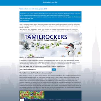 Tamilrockersnewlink.online thumbnail