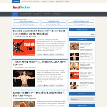 Tamilrockerswebsite.com thumbnail
