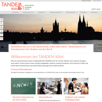 tandem-koeln de at WI  German Courses at TANDEM® Köln