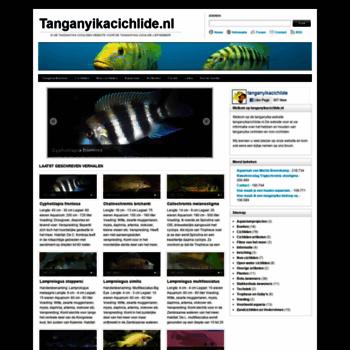 Tanganyikacichlide.nl thumbnail