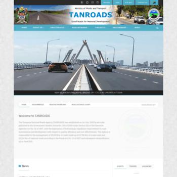 Tanroads.go.tz thumbnail