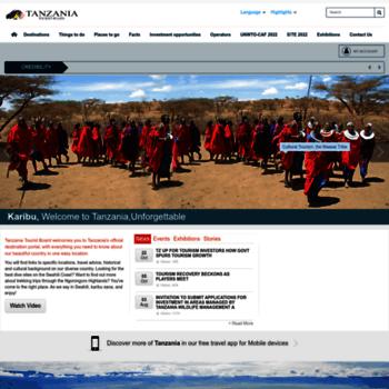Tanzaniatourism.go.tz thumbnail