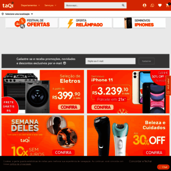 Taqi.com.br thumbnail