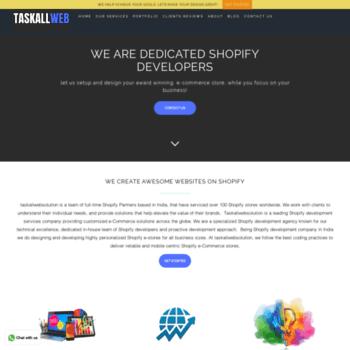 Taskallwebsolution.com thumbnail