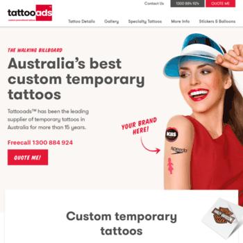 Tattooads.com.au thumbnail