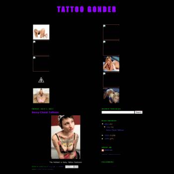 Tattoogonder.blogspot.com thumbnail
