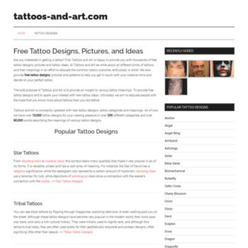 Tattoos-and-art.com thumbnail