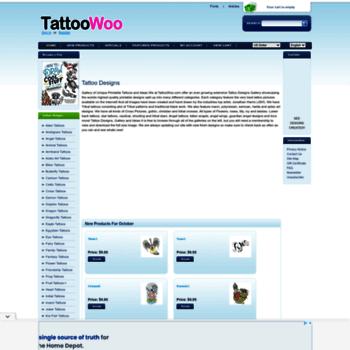 Tattoowoo.com thumbnail