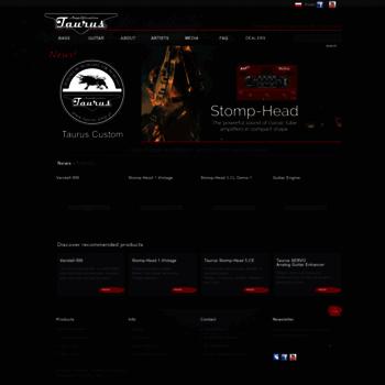 Taurus-amp.pl thumbnail