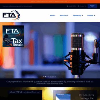 Taxadmin.org thumbnail