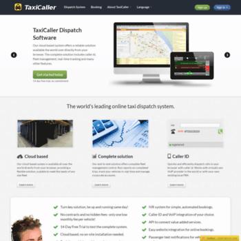 taxicaller biz at WI  Taxi Dispatch Software   TaxiCaller