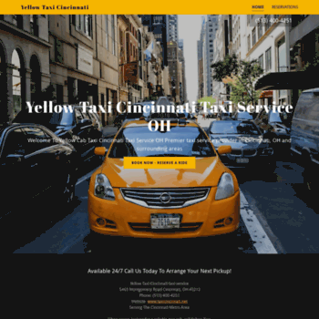 Taxicincinnati.net thumbnail