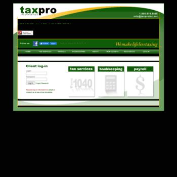 Taxproinc.net thumbnail
