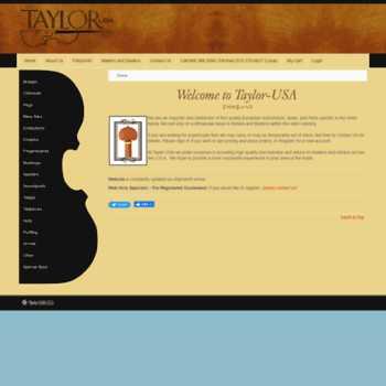 Taylorusa.net thumbnail