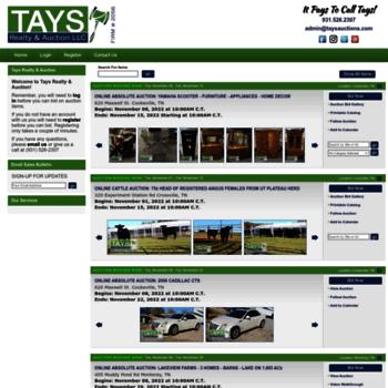 Taysauctions.com thumbnail