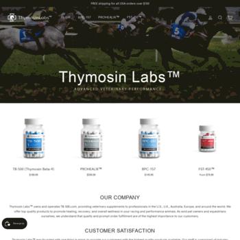 tb-500 com at WI  Thymosin Labs