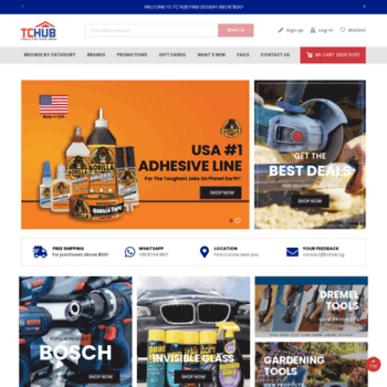 tchub sg at WI  Home | Power Tool Drill Hardware Online Shop