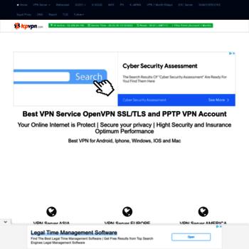tcpvpn com at WI  Free VPN OpenVPN and PPTP VPN Server