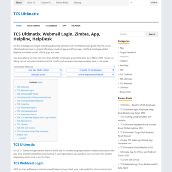 tcsultimatix net at WI  TCS Ultimatix - TCS, Ultimatix