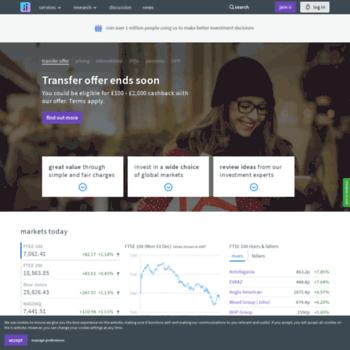 tddirectinvesting co uk at WI  interactive investor
