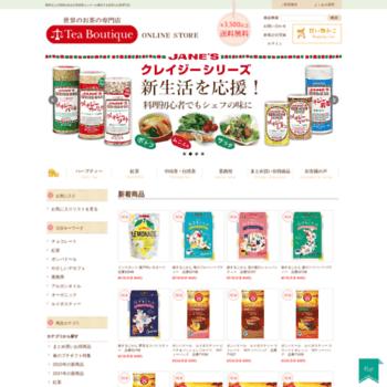 Tea-boutique.jp thumbnail