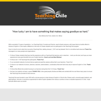 Teachingchile.com thumbnail