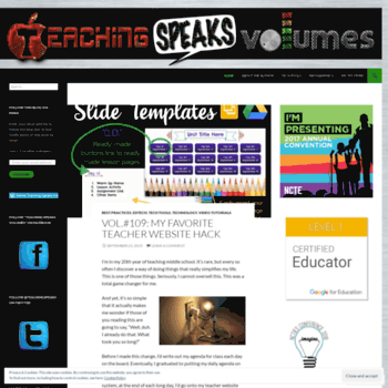 Teachingspeaksvolumes.com thumbnail