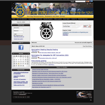 Teamsters463.org thumbnail
