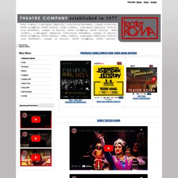 Teaterkoma.org thumbnail