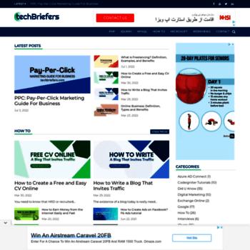 techbriefers com at WI  Learn PHP | Learn MySQL | Learn jQuery