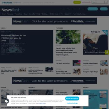 Techdatanewsflash.co.uk thumbnail