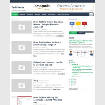 Techdoubts.net thumbnail