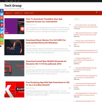 techdroop com at WI  Tech Droop | Free Download Latest Apps