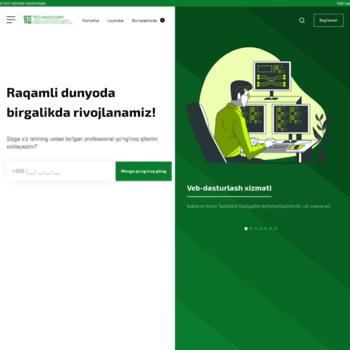 Веб сайт technocorp.uz
