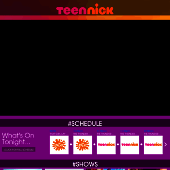 teennick com at WI  TeenNick – TV Shows, Schedule and More