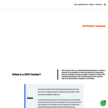 tegnotech com at WI  GPS Tracking System, GPS Device
