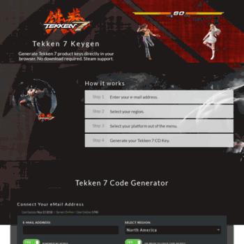 Tekken 7 serial keygen   KEYGEN, KEY GENERATOR, SERIAL KEY, PRODUCT