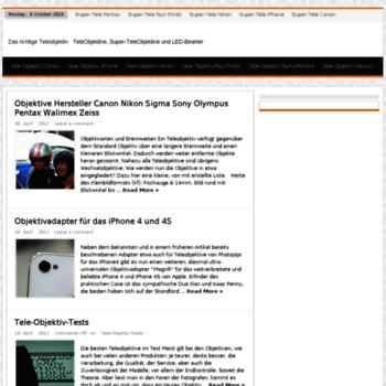 Tele-objektiv.de thumbnail