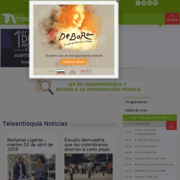 Teleantioquia.com.co thumbnail