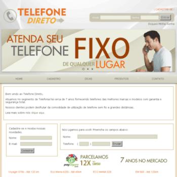 Telefonedireto.com.br thumbnail