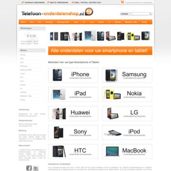 Telefoon-onderdelenshop.nl thumbnail