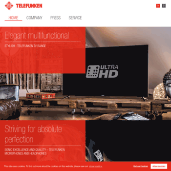 telefunken com at WI  Telefunken - HOME