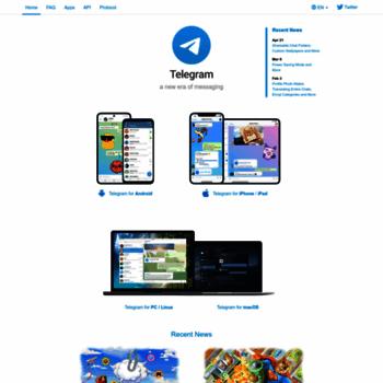 telegram org at WI  Telegram Messenger