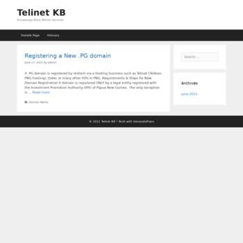 Telinet.com.pg thumbnail